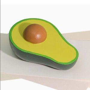 Avocado Paperweight NWT Green Resin Desk Decor
